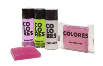 Amenities para hotel Linea Colores