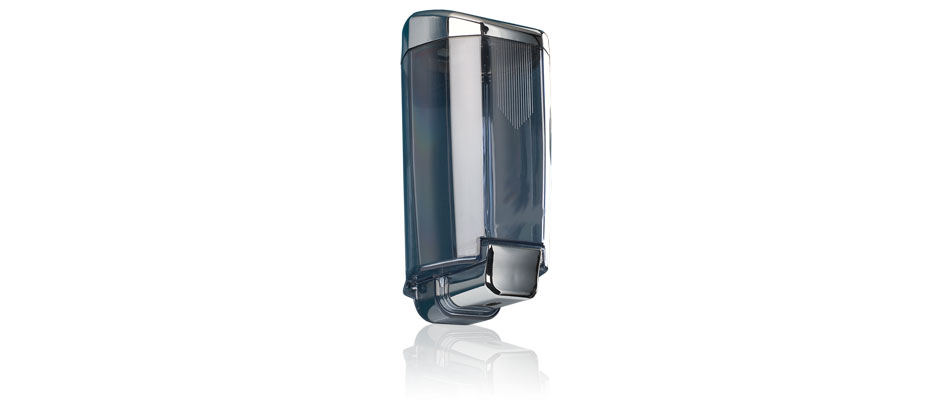 Dispensador de jab n para ducha sidney cromado welcome for Dosificador jabon ducha
